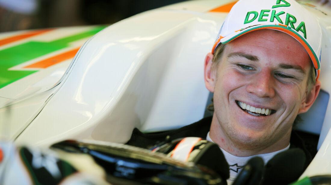 Nico Hülkenberg - Force India - Formel 1 - GP Kanada - 10. Juni 2012