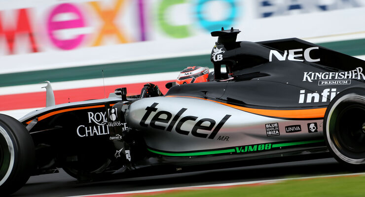 Nico Hülkenberg - Force India - Formel 1 - GP Mexiko - 31. Oktober 2015