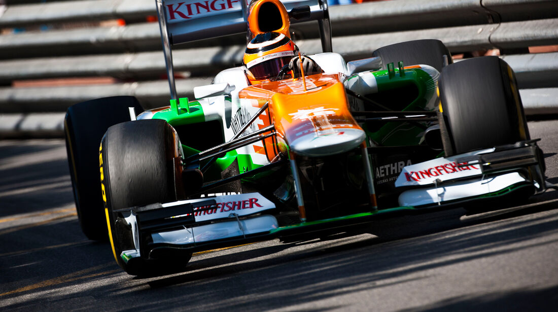 Nico Hülkenberg - Force India - Formel 1 - GP Monaco - 24. Mai 2012