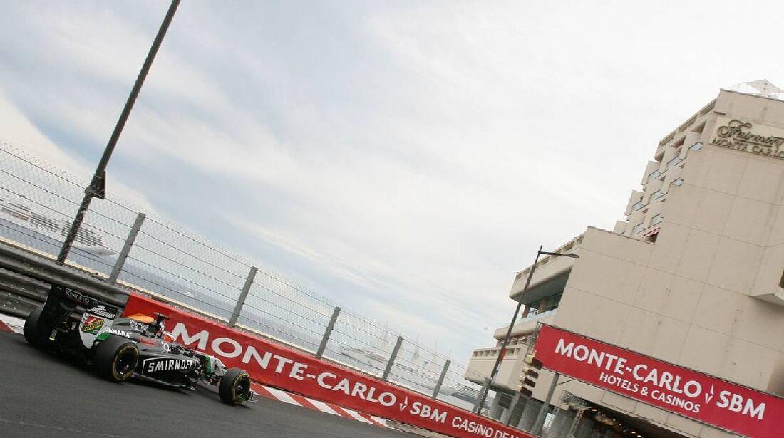 Nico Hülkenberg - Force India  - Formel 1 - GP Monaco - 25. Mai 2014