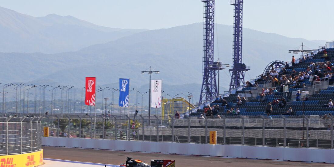 Nico Hülkenberg - Force India - Formel 1 - GP Russland - 10. Oktober 2014