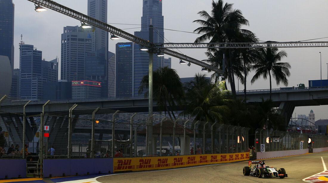 Nico Hülkenberg - Force India - Formel 1 - GP Singapur - 19. September 2014