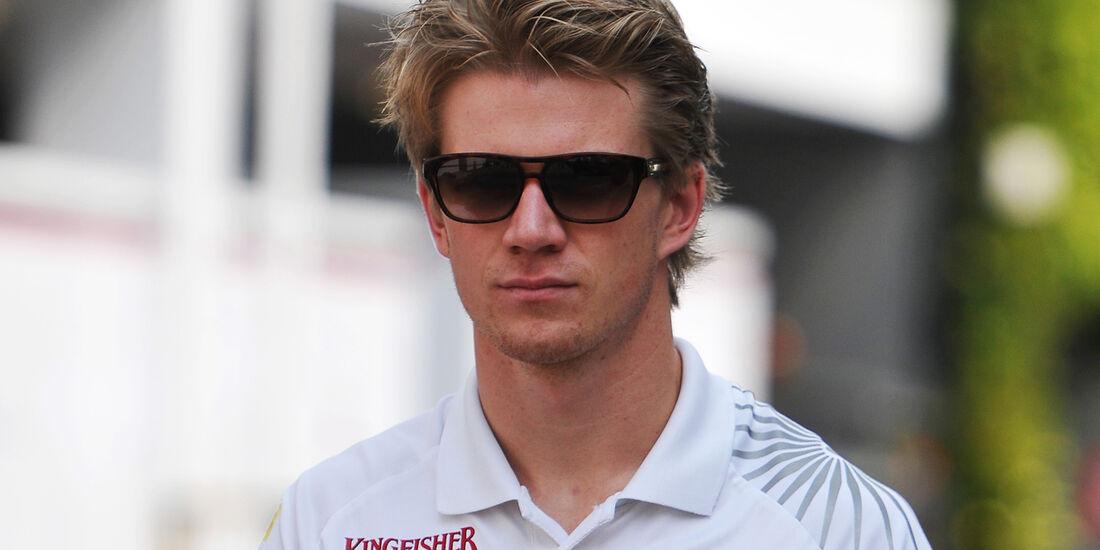 Nico Hülkenberg - Force India - Formel 1 - GP Singapur - 20. September 2012
