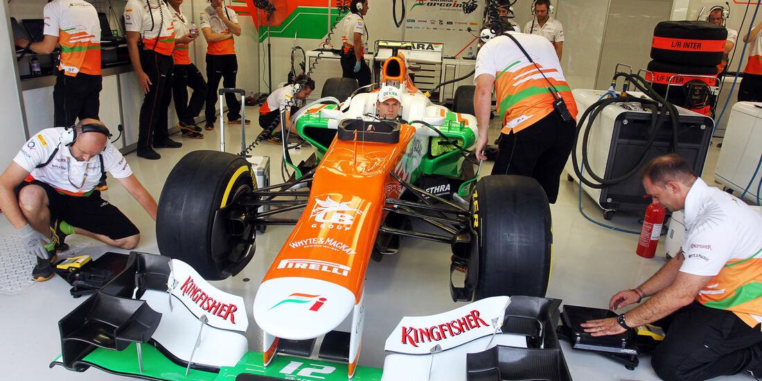 Nico Hülkenberg - Force India - Formel 1 - GP Singapur - 21. September 2012