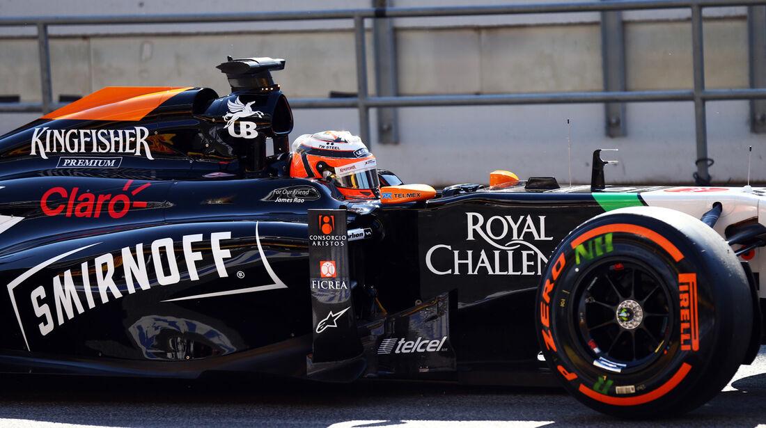 Nico Hülkenberg - Force India - Formel 1 - GP Spanien - Barcelona - 9. Mai 2014