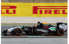 Nico Hülkenberg - Force India - Formel 1 - GP Spanien - Barcelona - 9. Mai 2014