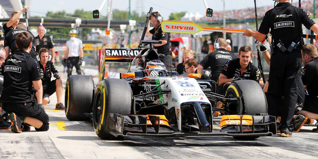 Nico Hülkenberg - Force India - Formel 1 - GP Ungarn - 25. Juli 2014