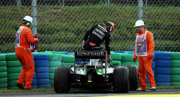 Nico Hülkenberg - Force India - Formel 1 - GP Ungarn - 27. Juli 2014