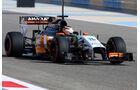 Nico Hülkenberg - Force India - Formel 1 - Test - Bahrain - 19. Februar 2014