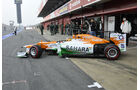 Nico Hülkenberg - Force India - Formel 1-Test Barcelona - 4. März 2012