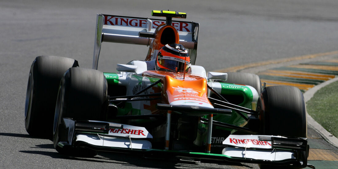 Nico Hülkenberg - Force India - GP Australien - Melbourne - 17. März 2012