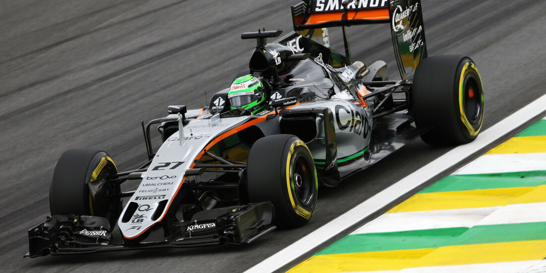 Nico Hülkenberg - Force India - GP Brasilien 2016 - Interlagos - Qualifying