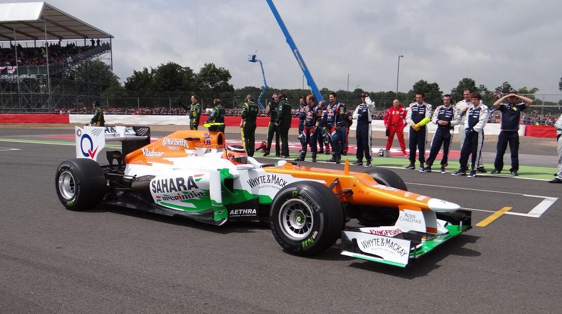 Nico Hülkenberg Force India GP England 2012