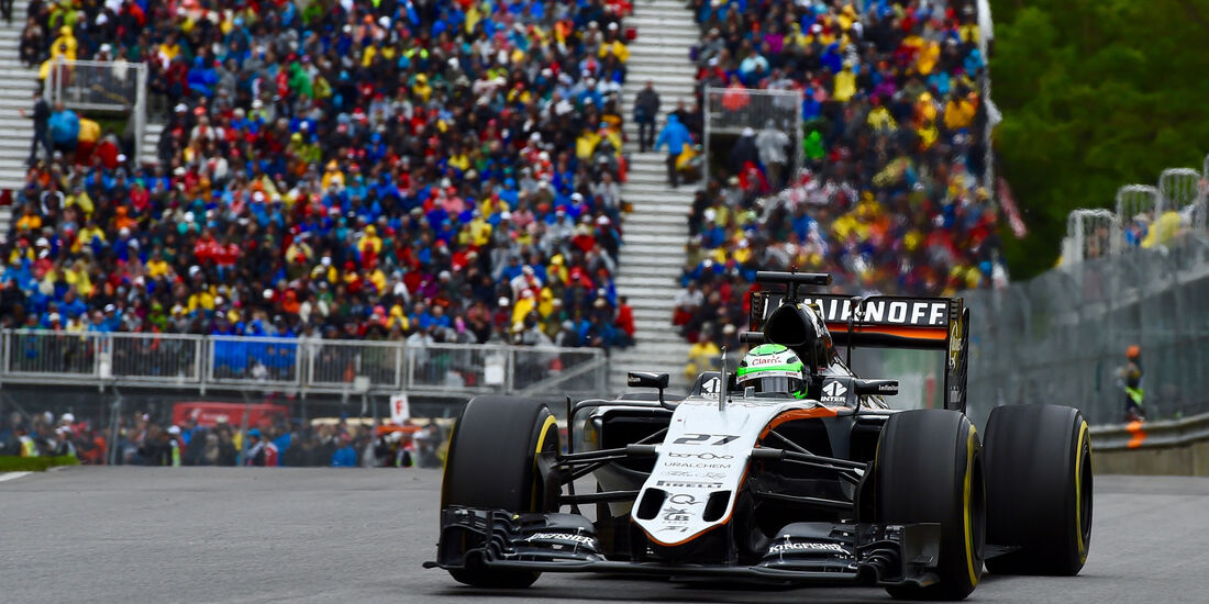 Nico Hülkenberg - Force India - GP Kanada 2016 - Montreal