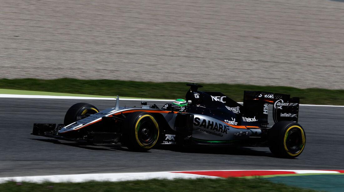 Nico Hülkenberg - Force India - GP Spanien 2016 - Qualifying - Samstag - 14.5.2016