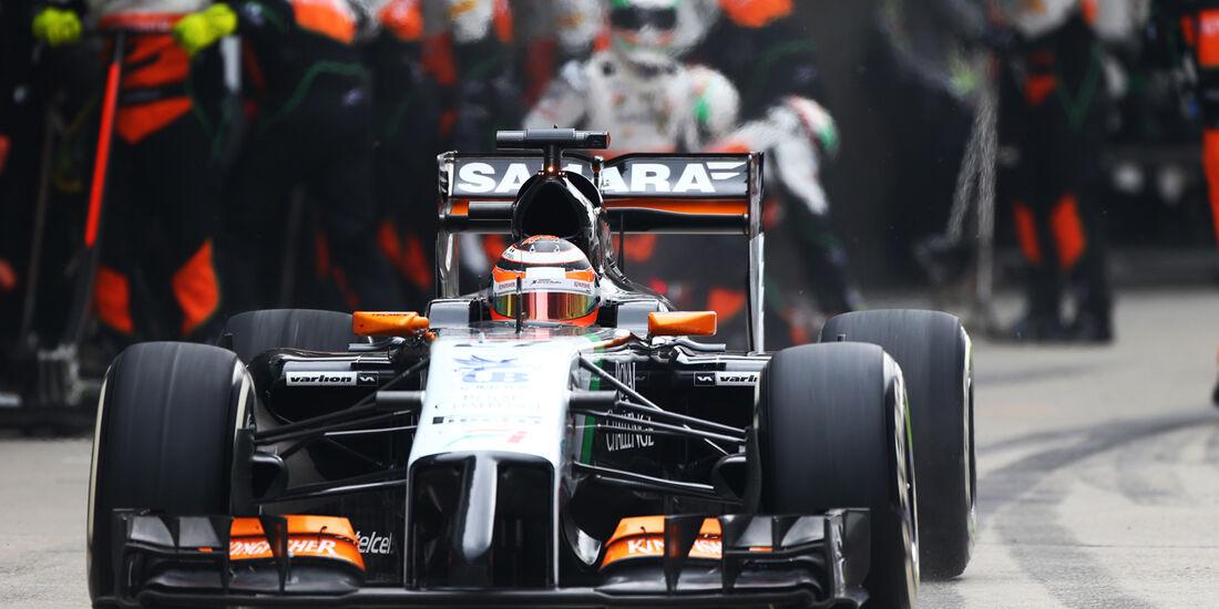 Nico Hülkenberg - GP China 2014