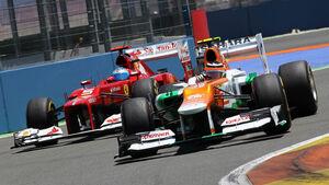 Nico Hülkenberg GP Europa 2012