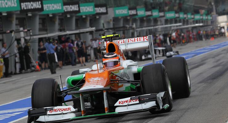Nico Hülkenberg GP Malaysia 2012