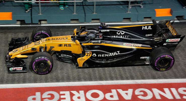 Nico Hülkenberg - GP Singapur 2017