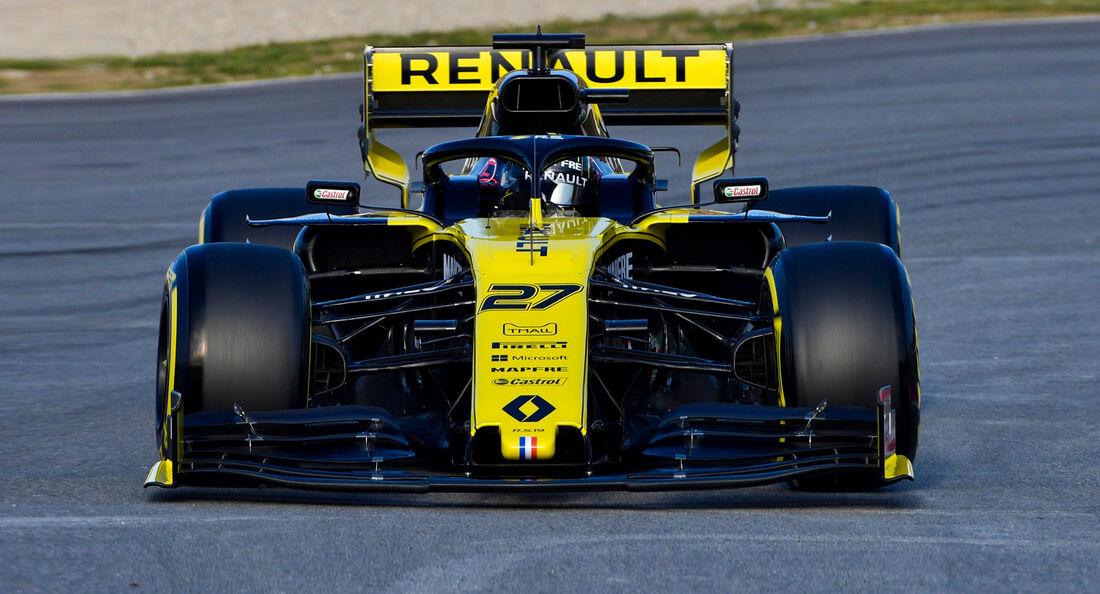 Nico Hülkenberg - Renault - F1-Test - Barcelona - 2019