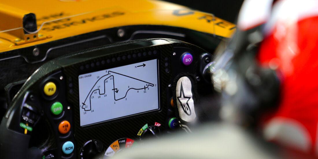 Nico Hülkenberg - Renault - Formel 1 - GP Abu Dhabi - 24. November 2017