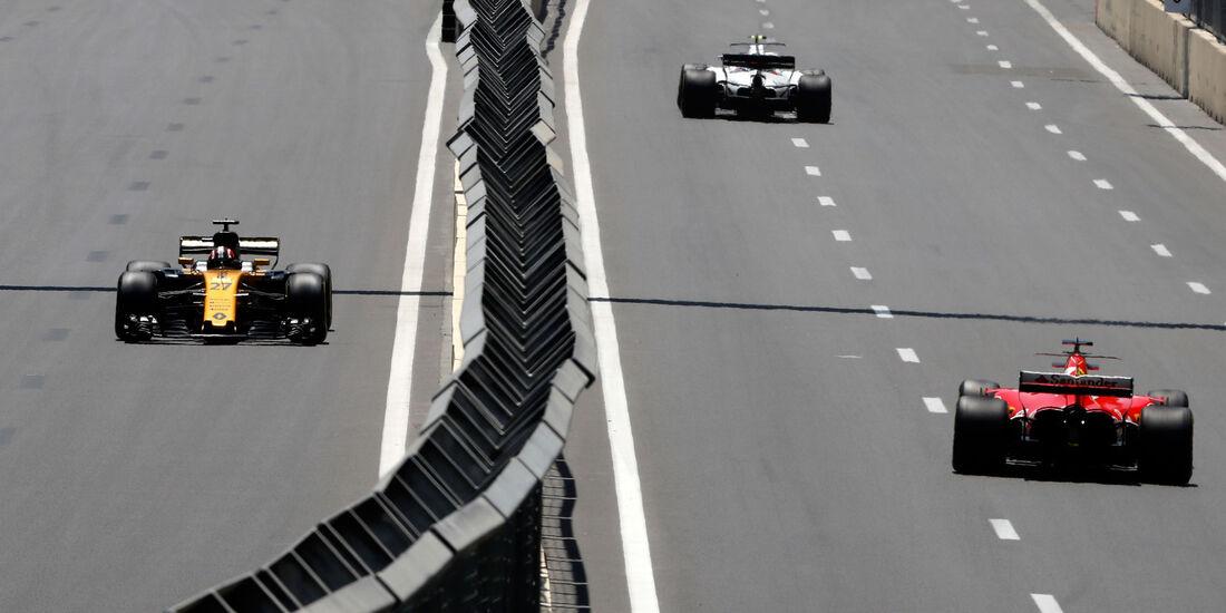 Nico Hülkenberg - Renault - Formel 1 - GP Aseerbaidschan 2017 - Training - Freitag - 23.6.2017