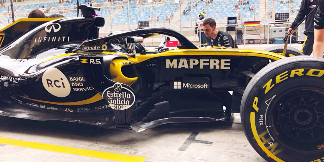 Nico Hülkenberg - Renault - Formel 1 - GP Bahrain - Training - 6. April 2018