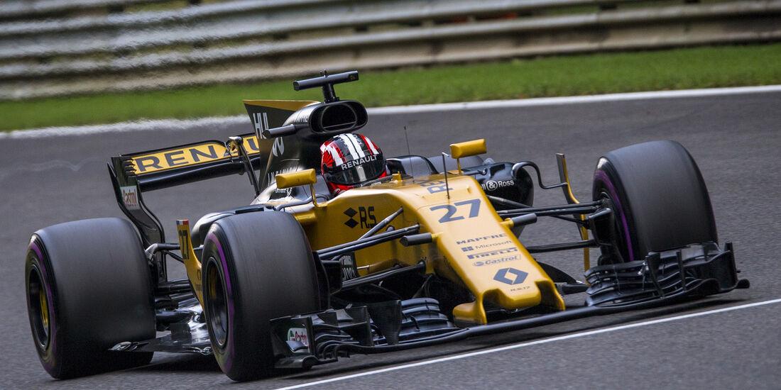 Nico Hülkenberg - Renault - Formel 1 - GP Belgien - Spa-Francorchamps - 26. August 2017