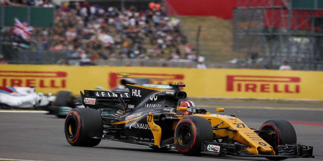 Nico Hülkenberg - Renault - Formel 1 - GP England - 16. Juli 2017