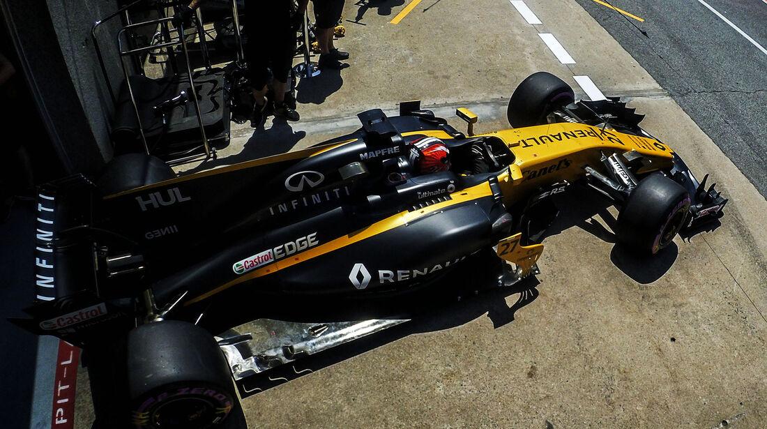 Nico Hülkenberg - Renault - Formel 1 - GP Kanada - Montreal - 10. Juni 2017