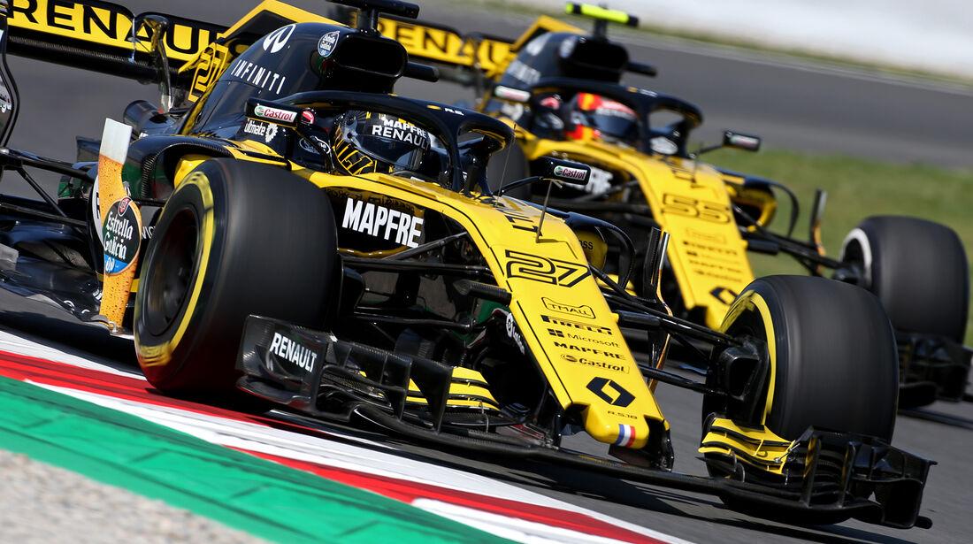 Nico Hülkenberg - Renault - Formel 1 - GP Spanien - Barcelona - 11. Mai 2018