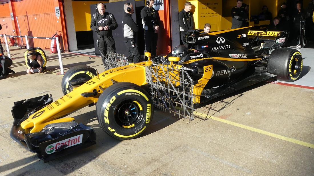 Nico Hülkenberg - Renault - Formel 1 - Test - Barcelona - 10. März 2017