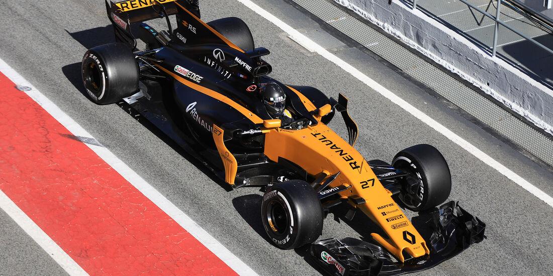 Nico Hülkenberg - Renault - Formel 1 - Test - Barcelona - 7. März 2017