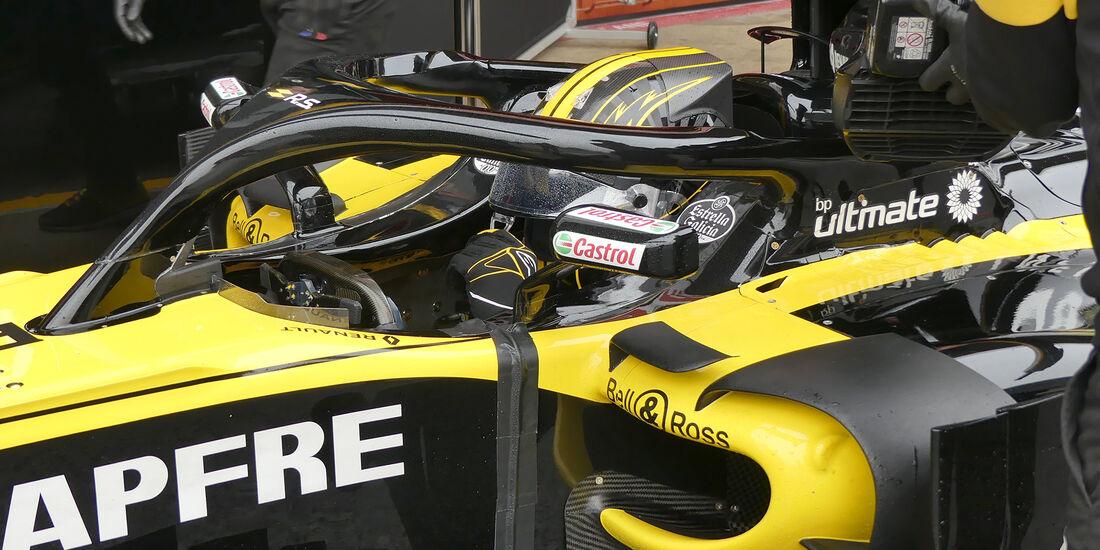 Nico Hülkenberg - Renault - Formel 1 Test - Barcelona - Tag 4 - 1. März 2018