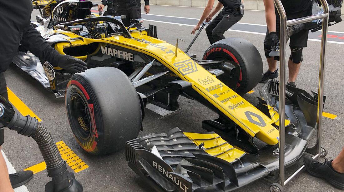 Nico Hülkenberg - Renault - GP Belgien - Spa-Francorchamps - 24. August 2018