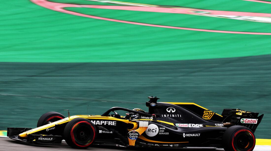 Nico Hülkenberg - Renault - GP Brasilien - Interlagos - Formel 1 - Samstag - 10.11.2018