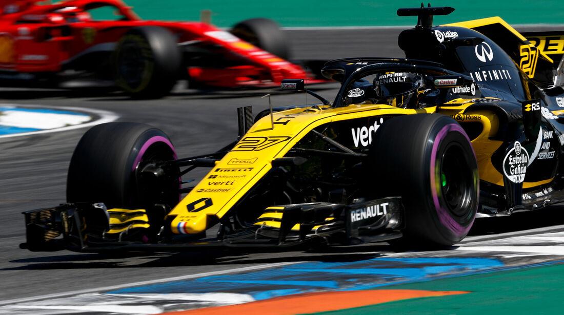 Nico Hülkenberg - Renault - GP Deutschland - Hockenheim - Formel 1 - Freitag - 20.7.2018