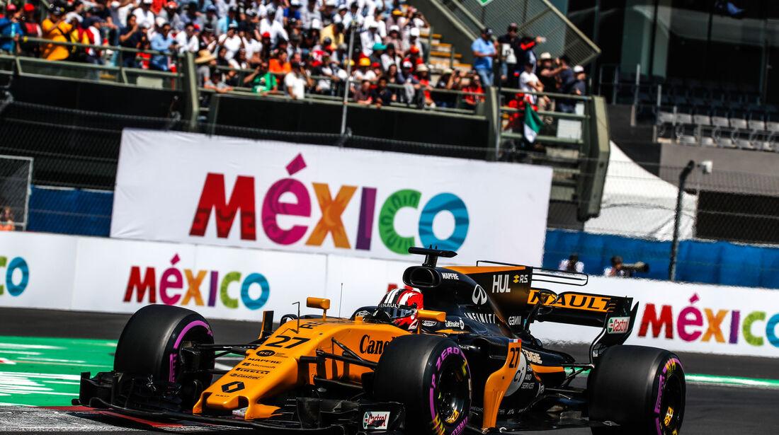 Nico Hülkenberg - Renault - GP Mexiko 2017 - Qualifying