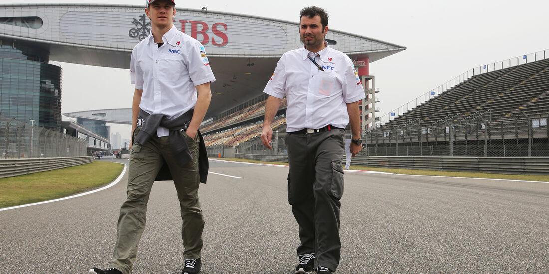 Nico Hülkenberg - Sauber - Formel 1 - GP China - 11. April 2013
