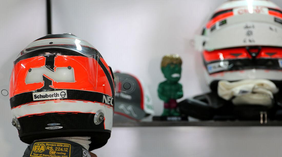 Nico Hülkenberg - Sauber - Formel 1 - GP Indien - 25. Oktober 2013