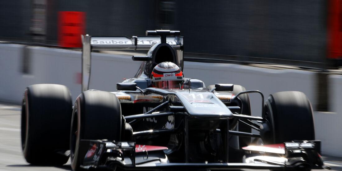 Nico Hülkenberg - Sauber - Formel 1 - GP Italien - 7. September 2013