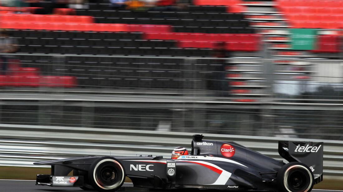 Nico Hülkenberg - Sauber - Formel 1 - GP Korea - 5. Oktober 2013