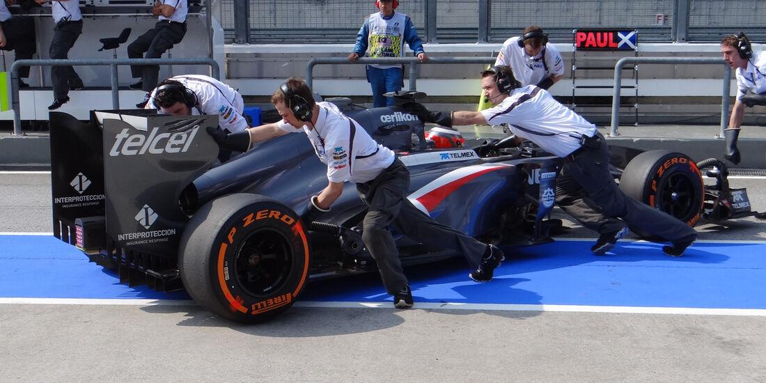 Nico Hülkenberg - Sauber - Formel 1 - GP Malaysia - 22. März 2013