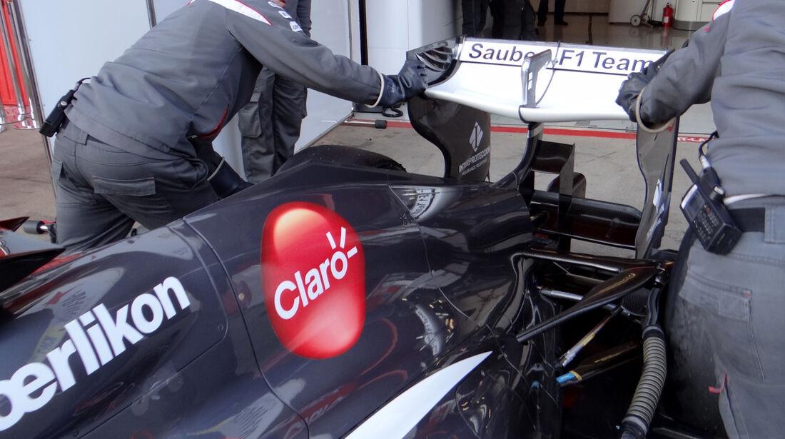 Nico Hülkenberg - Sauber - Formel 1 - Test - Barcelona - 20. Februar 2013