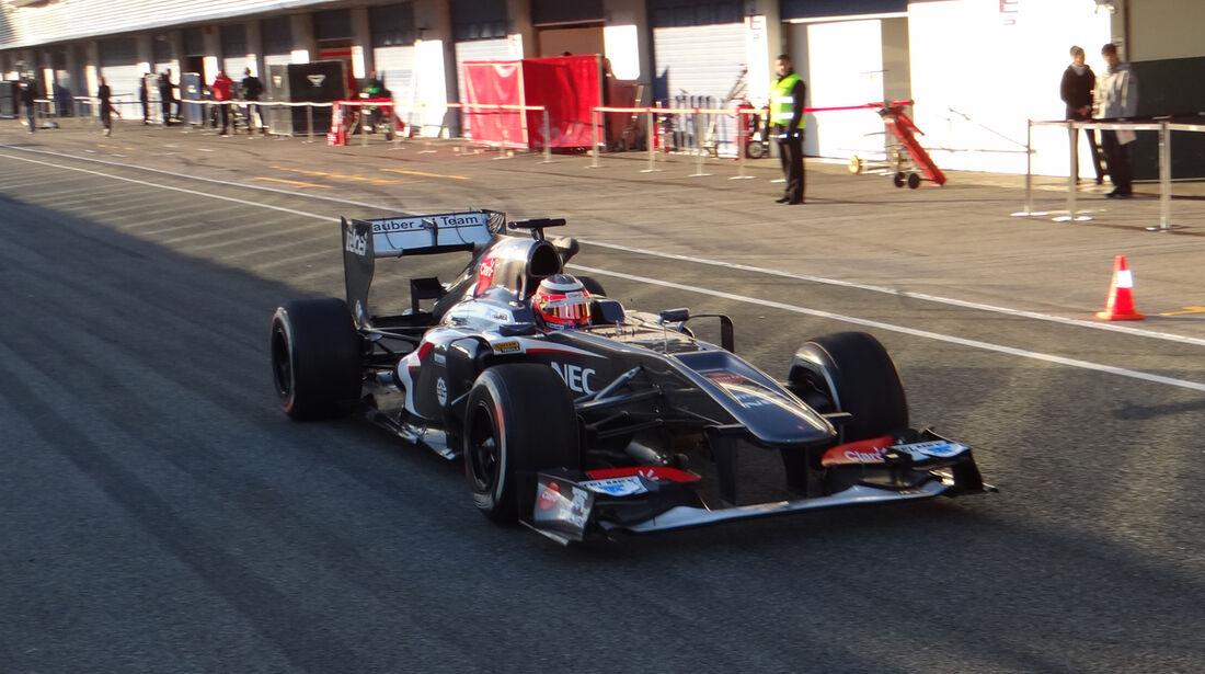 Nico Hülkenberg - Sauber - Formel 1 - Test - Jerez - 6. Februar 2013