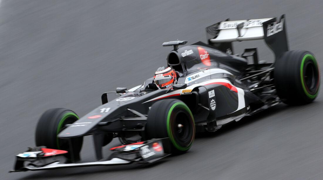 Nico Hülkenberg - Sauber - GP Brasilien - 23. November 2013