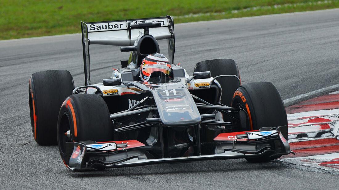 Nico Hülkenberg - Sauber - GP Malaysia - 23. März 2013