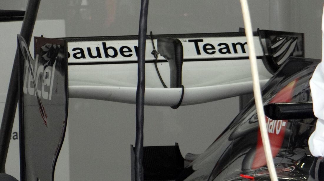 Nico Hülkenberg - Sauber Heckflügel - Formel 1 - GP China - 12. April 2013