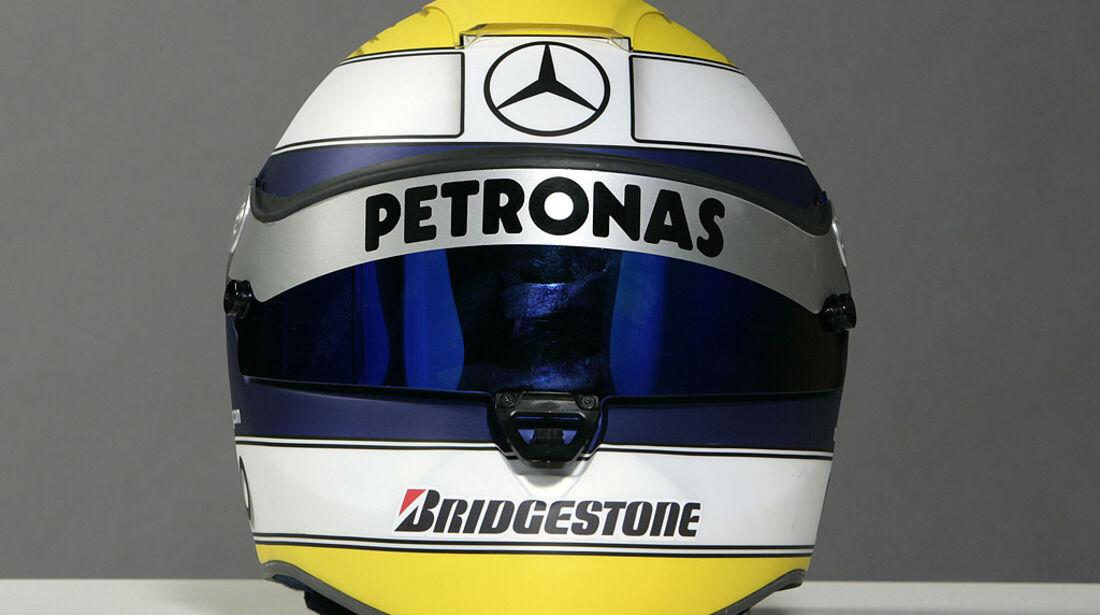 Nico Rosberg 2010 Helm