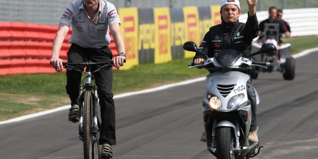 Nico Rosberg 2012 - Mercedes GP